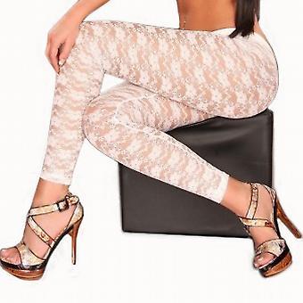 Waooh - Fashion - Long Legging with flower motifs