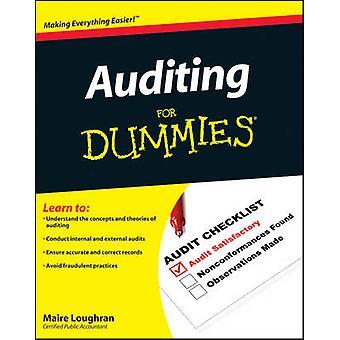 Auditoría para Dummies por Maire Loughran - libro 9780470530719
