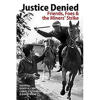 Justice Denied - Friends - Foes and the Miners' Strike by David Allsop