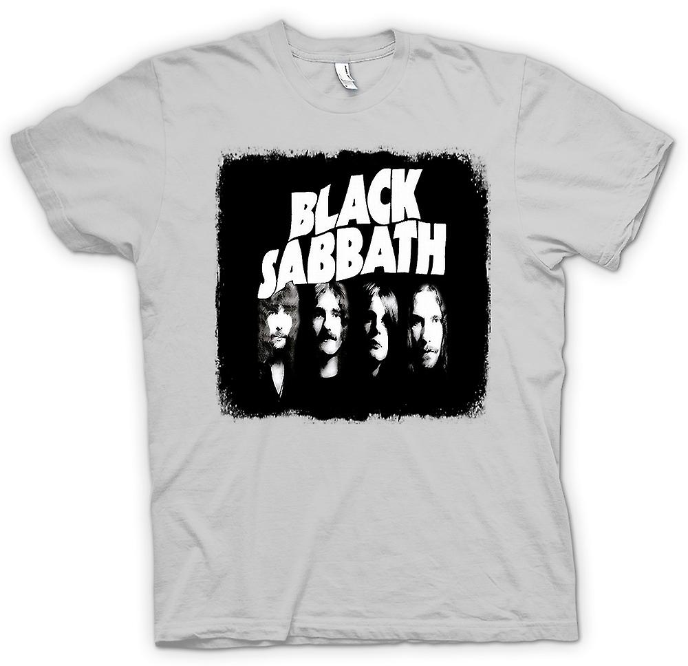 Mens T-shirt-Heavy-Metal - Band - Sabbat