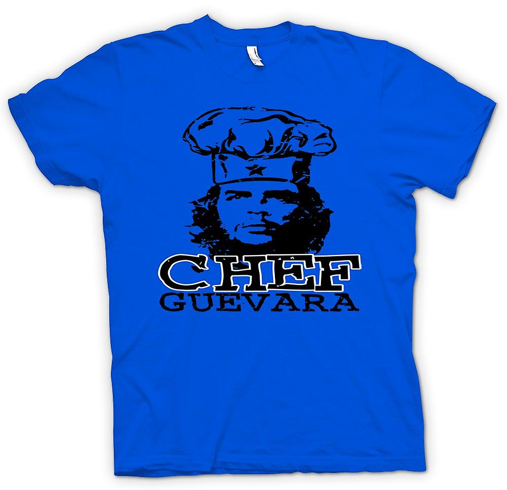 Mens T-shirt-Chef Guevara Cool