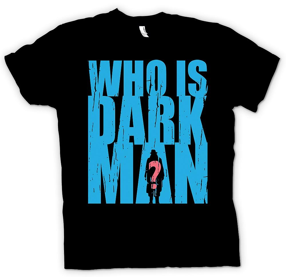 Kids T-shirt - Who is Darkman - Superhero Inspired