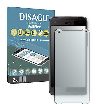 HTC Butterfly S TD-LTE display protector - DISAGU FullFlex protector