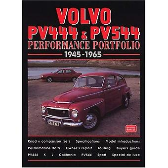 Volvo PV444 et PV544 Performance portefeuille 1945-1965 (Performance portefeuille S.)