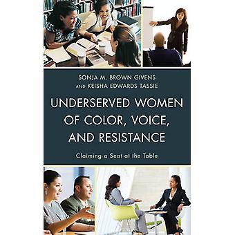 Mujeres marginadas de Color - voz - y resistencia - reclama un asiento