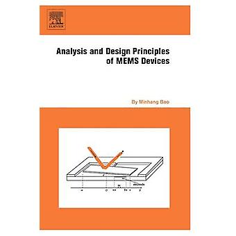 Analysis and Design Principles of MEMS Devices by Bao & Minhang