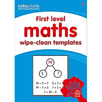First level wipe-clean maths templates - for the Curriculum for Excell