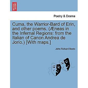 Cuma WarriorBard av Erin og andre dikt. neas i det infernalske regionene fra den italienske av Canon Andrea de Jorio. Med kart. ved Beste & John Richard