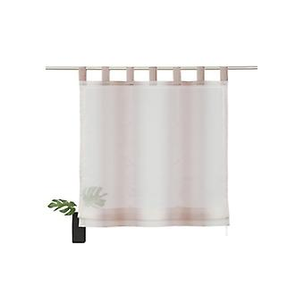 my home window blind modern Voile Roman shade with loop Brown