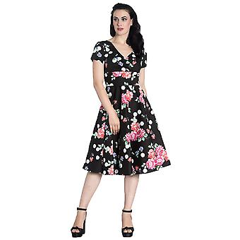 Hell Bunny Collarette 50's Dress S