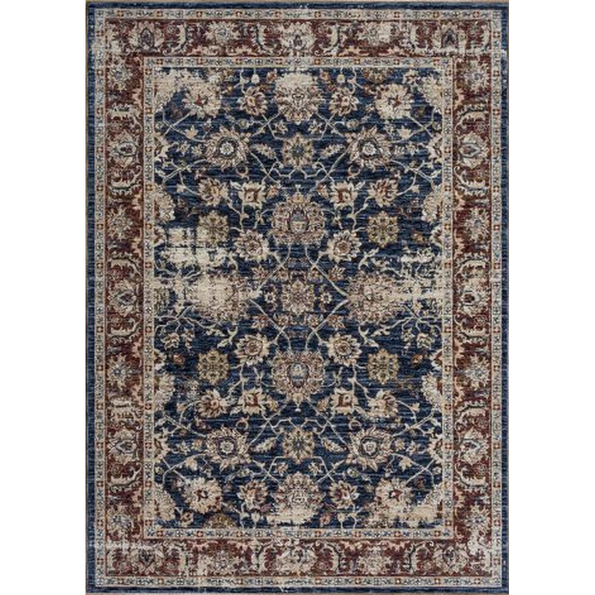 Alhambra tapis 6549 en bleu bleu