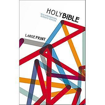 NIrV uppsökande stora tryckta Bibeln för barn - Paperback av Zonderkidz-