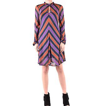 فستان التوأم-مجموعة فسكوز متعدد الألوان