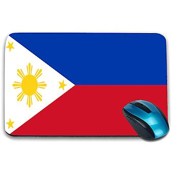 i-Tronixs - Philippines Flag Printed Design Non-Slip Rectangular Mouse Mat for Office / Home / Gaming - 0139