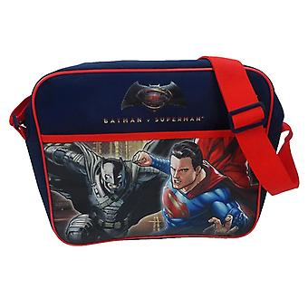 Kinderbatman v Superman: Dawn of Justice Messenger Bag