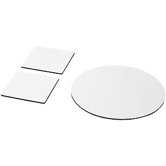 Q-Mat Coaster And Mouse Mat Set (Pack Of 3)