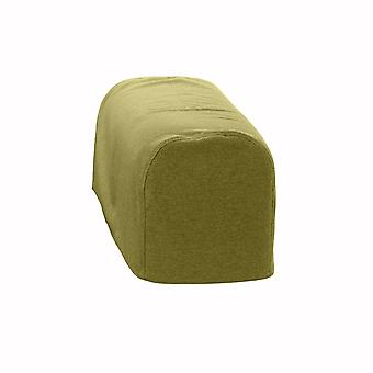 Changing Sofas® Large Size Olive Wool Feel Pair of Arm Caps for Sofa Armchair