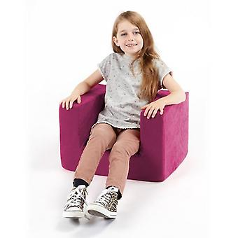 Children's Pink Comfy Foam Arm Chair