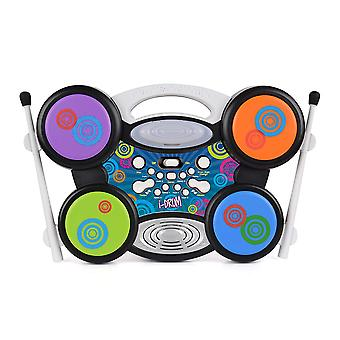 Toyrific i-tamburo MP3 Plug & Play elettrico Drum Set