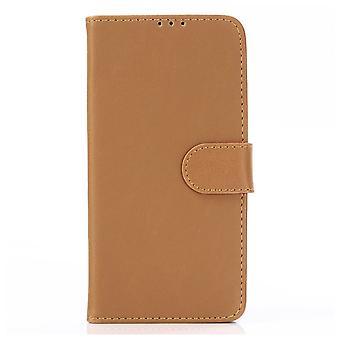 Samsung Galaxy A10 Retro Wallet case-Brown