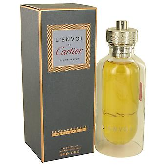 L'envol de Cartier by Cartier Eau De Parfum Spray Refillable 3.3 oz / 100 ml (Men)