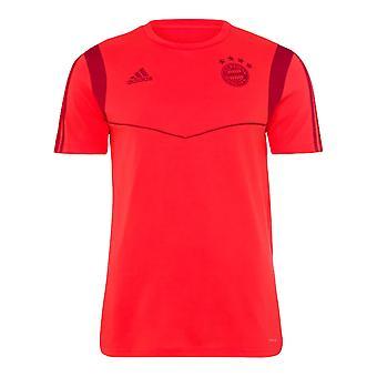 2019-2020 Bayern Munich Adidas Training Tee (Red) - Kids