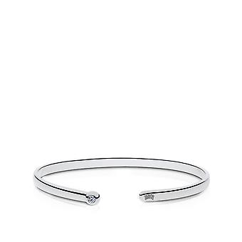U Of Nevada Las Vegas - Unlv Engraved Diamond Cuff Bracelet