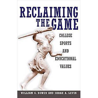 لاستعادة اللعبة--كلية الرياضة والقيم التربوية بوليام