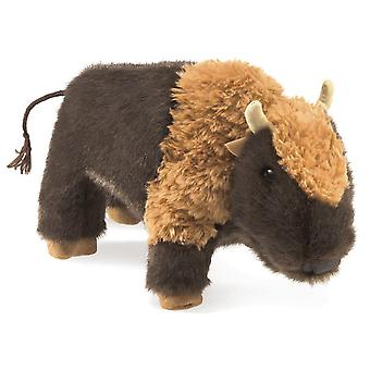 Hand Puppet - Folkmanis - Bison Small New Toys Soft Doll Plush 3108