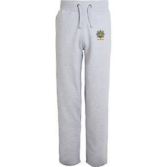 Highland Light Infantry Veteran - Licensed British Army Embroidered Open Hem Sweatpants / Jogging Bottoms