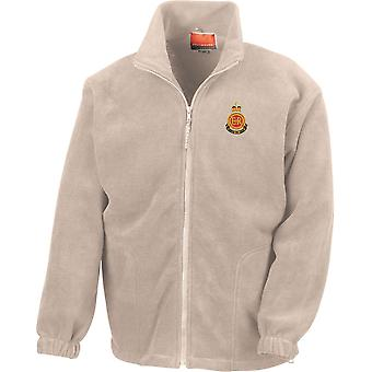 RMAS Royal Military Academy Sandhurst - Licensed British Army Embroidered Heavyweight Fleece Jacket