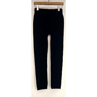 Kate & Mallory Seamless W/Fleece Lining Legging Blue Womens A428086
