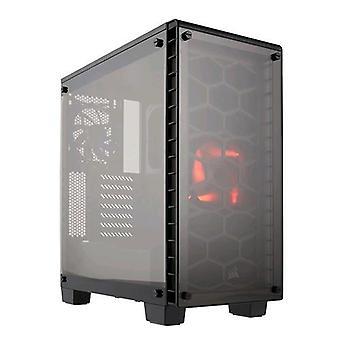 Corsair crystal series 460x cabinet midi-tower tempered glass black
