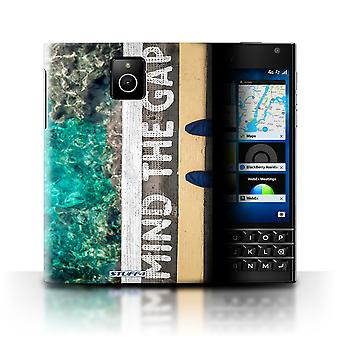 STUFF4 Case/Cover for Blackberry Passport/Mind The Gap/Imagine It
