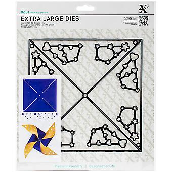 Xcut Decorative Dies Extra Large-Large Straight Pinwheel XC503259