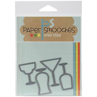 Paper Smooches Die boisson lunettes Sed079