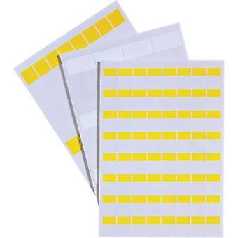 Cable identifier Fleximark 25 x 25.40 mm Label colour: Yellow LappKabel 83256146 LCK-40 YE No. of labels: 24