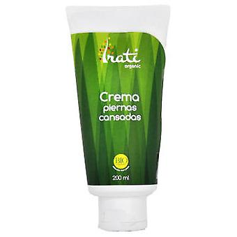 Irati Organic Tired Legs Cream 200 Ml Bio Line Irati