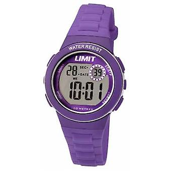 Limit Kids Digital Purple Resin Strap 5585.24 Watch