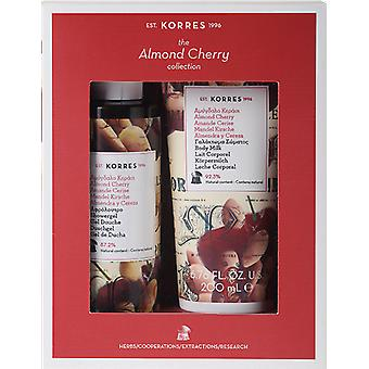 Korres mandel Cherry Collection Gift Set