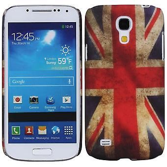 UK flag retro cover rubber TPU case for Samsung Galaxy S4 mini i9190