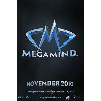 Постер фильма Мегамозг (11 x 17)