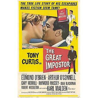 The Great Imposter Movie Poster (11 x 17)