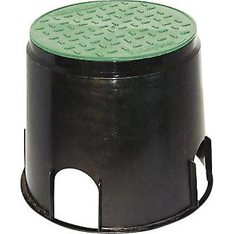 Floor socket Black, Green Heitronic 21036