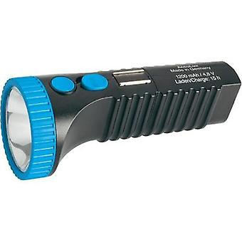 LED Torch AccuLux PowerLux rechargeable 215 g Black-blue