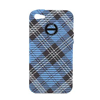 Hip Hop Cover Handyhülle Iphone 4 / 4s Tartan HCV0079 dundee blue
