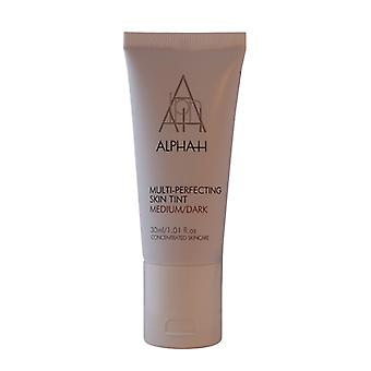 Alpha-H Multi Perfecting Skin Tint - Medium/Dark 30ml
