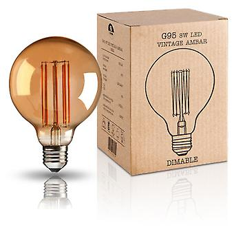 Schuller Vintage Led Bulb G95 8W E27 (Home , Lighting , Light bulbs and pipes)