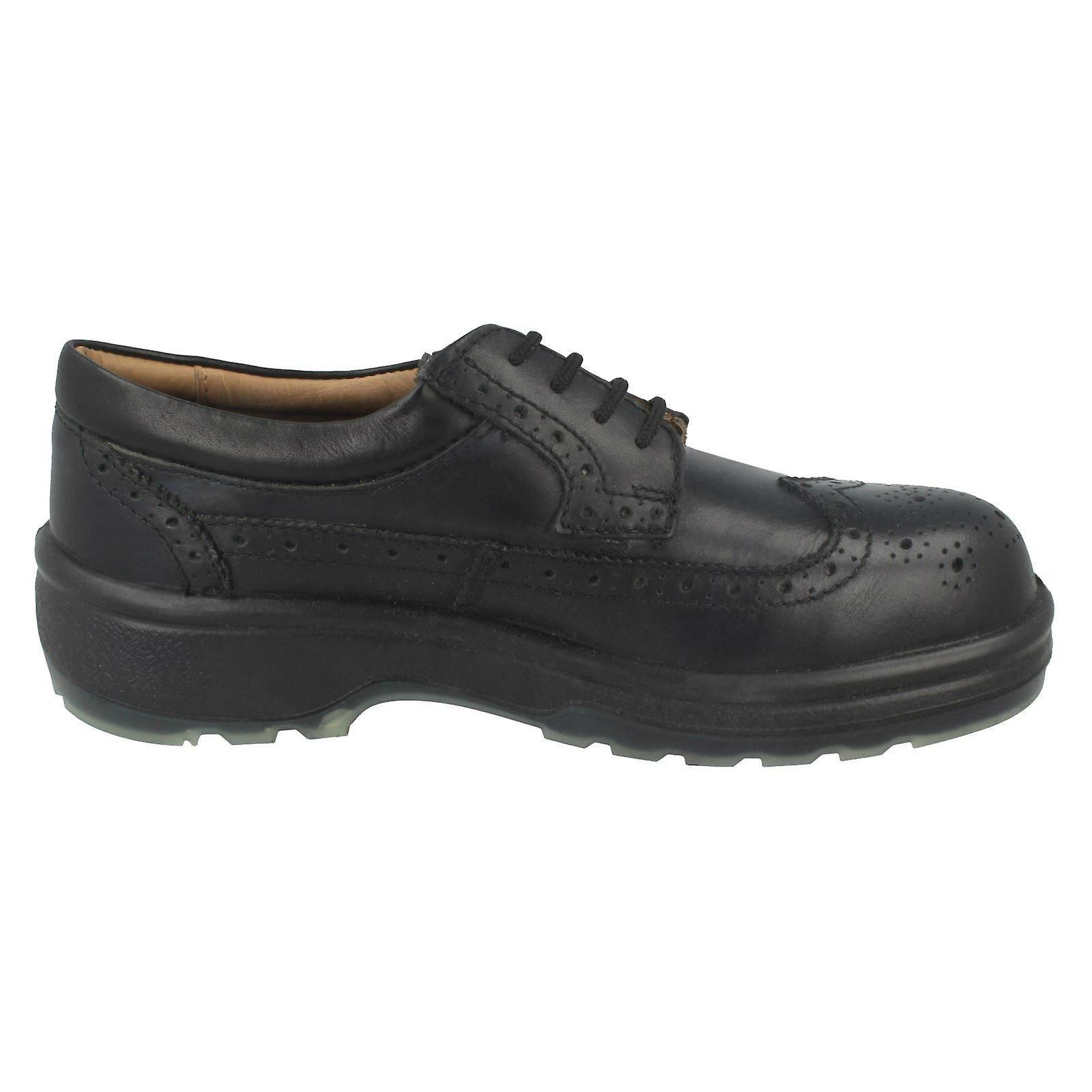 Mens ZX ZX ZX Brogue Style Safety Shoes 1008 05ba37