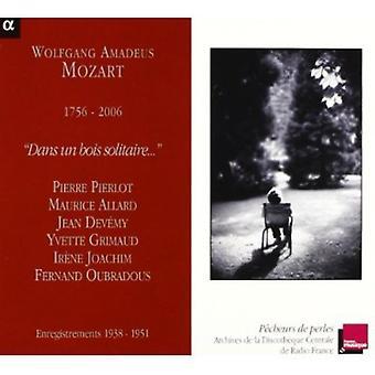 W.a. Mozart - Mozart: Dans Un Bois Solitaire [CD] USA import
